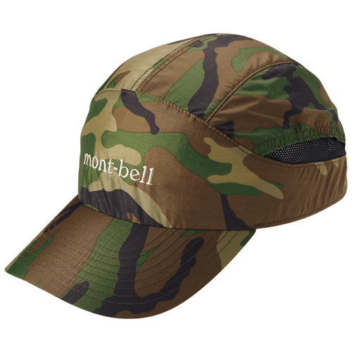 Mont-bell 迷彩棒球帽 Camouflage Watch Cap
