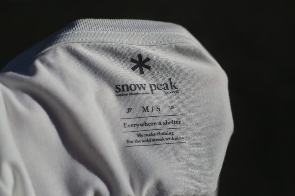 Snow Peak Loung Shell 印花T恤