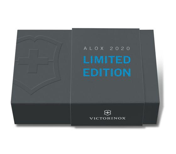 Victorinox Classic Alox 5用鋁殼瑞士刀 藍 2020年限量版 58mm 0.6221.L20