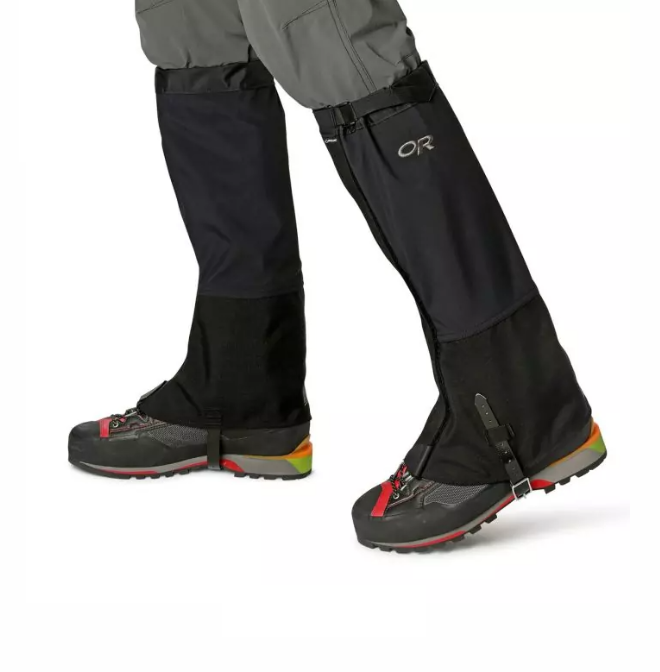 Outdoor Research GTX 經典鱷魚綁腿 黑 Crocodile Gaiters